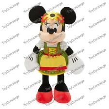 Disney Parks Epcot Germany Bavarian Minnie Mouse Plush With Tag