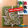 Carcassonne Erweiterung - Labyrinth (neues Design) Extention + 6 Figuren !