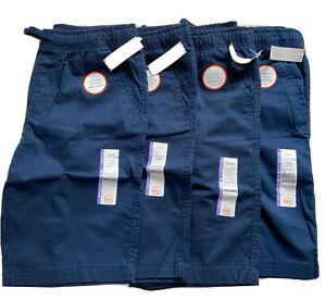 Wonder Nation Boys School Uniform Shorts Lot of Four Size XL (14-16)