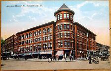 1910 St. Johnsbury, VT Postcard: The Avenue House - Vermont