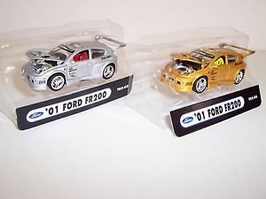 2 2001 FORD Focus FR200 Hot Collector IMPORT Tuner Car Wheels Mothers HKS CATZ