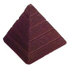 Silicone Bakeware Pyramid Chocolate Mould, Polycarbonate, Clear, 27.5 x 13.5 ...