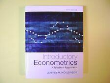 Introductory Econometrics: A Modern Approach (Upper Level Economics Titles) 6E