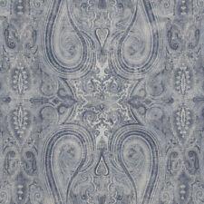 Ralph Lauren Blue Upholstery Fabric- Birchwood Paisley / Dusk 0.95 yd LCF66553F