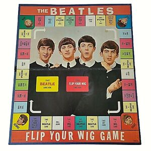Beatles Flip Your Wig Board Game - PLAYING BOARD ONLY - READ DESCRIPTION