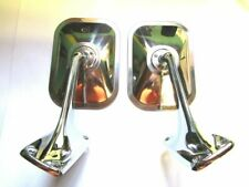 Mopar 72 73 74 75 76 77 78 79 80 Dodge Truck Sport Mirrors and Bases Pickup NEW