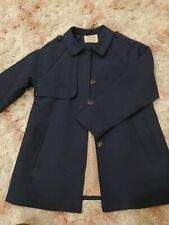 Girls Zara Navy Jacket Size 9/10