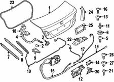 BMW 51-24-7-269-543 | TRUNK LID LOCK, TOP | #12 On Picture