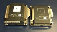 HP Proliant BL460C Gen8 CPU 1 & CPU 2 Heatsinks 670031-001 670032-001