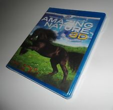 Amazing Nature Real 3D Stereoscopic (Blu-ray 3D / 2D Version NEW) Film Animals
