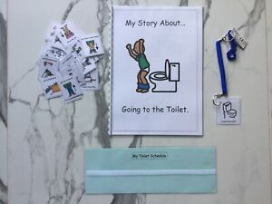 PECS/Boardmaker Toilet Training Social Story & Schedule for autism/ASD/SEN/ADHD