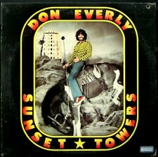 DON EVERLY 'Sunset Towers' Near Mint 1974 White label Promo LP