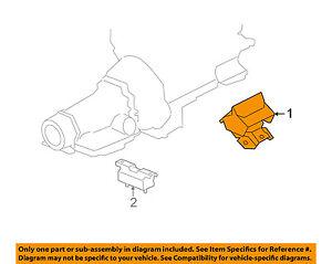 Hummer GM OEM 08-10 H3-Engine Motor Mount Torque Strut 25847739