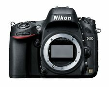 EXCELLENT Nikon D D600 24.3 MP Digital SLR Camera - Black (Body Only) US Version