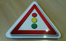 Ampel Lichtzeichenanlage Verkehrszeichen Schild für Kinder Spielzeug wetterfest