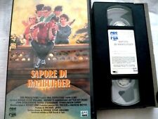 SAPORE DI HAMBURGER _  VHS EX NOLO_ FILM COMMEDIA 1985