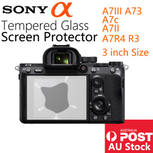 Tempered Glass Screen Protector Sony A7II A7III A7RII A7RIII Camera