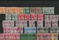 stamps of malaya values up to 5 dollar ref r12149