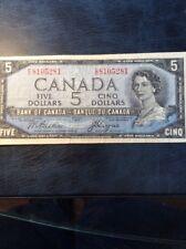 Canada 1954 $5.00 Note