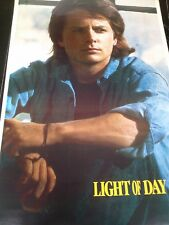1987 Michael J Fox Light of Day  vintage wall poster PBX2812