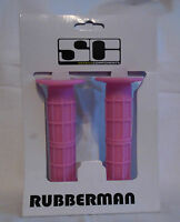 BIKE CYCLE HANDLE BAR GRIPS IN PINK