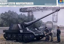 Trumpeter - Alemán alemán Krupp Steyr Portador de arma Pak 43 8.8 cm 1:35
