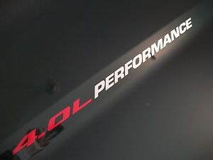 4.0L PERFORMANCE Hood decals Dodge Nitro SXT SLT SRT 4x4  Ford Mustang   FITS