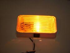 Bargman RV Trailer Amber Yellow Plastic Cargo Light Camper