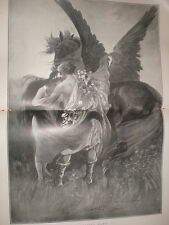 Day Leaving Dawn Percy F S Spence 1897 large old print