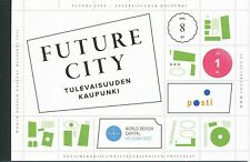 Finland 2012 Used - Helsinki Future City - sheets booklet - First Day Cancel