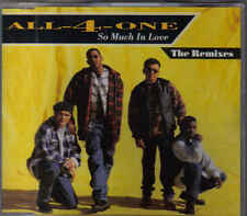 All 4 One-So Much In Love The Remixes cd maxi single