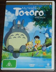 DVD. My Neighbor Totoro. G. Studio Ghibli. Anime. Region 4.