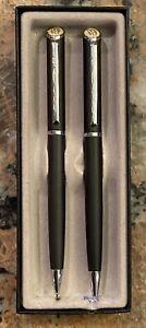 Quill Liberty Mutual Pen Pencil Set Writes Blue