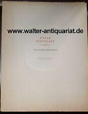 Il nostro Stuttgart la scorsa bellezze dieci studi di E. O. Dobler numerate