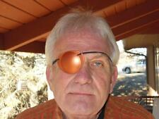 World's Best Eye Patch ADULT COPPER METALLIC LASTS FOR YEARS, Replaceable Elast