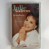 Julie Andrews Broadway The Music of Richard Rodgers (Cassette)
