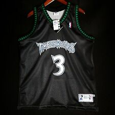 100% Authentic Stephon Marbury Starter Timberwolves Jersey Size 46 L XL