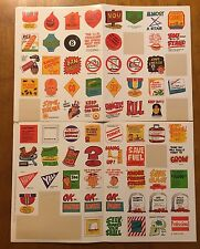 Vintage 1980 Scholastic Book Clubs stickers