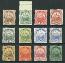 Bermuda 1922-34 set SG77/87 MNH/MVLH (most MNH)