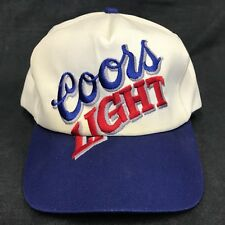cb239dcee5e37 sale vintage coors light k products two tone snap back hat cap beer trucker  hat 930ca
