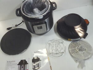 Instant Pot Duo Crisp Pressure Cooker 11 in 1, 8 Qt Air Fryer MISSING LID