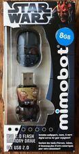 MIMOBOT 8GB Star Wars Darth Vader Unmasked (Prequel) USB Flash Drive NEW IN BOX