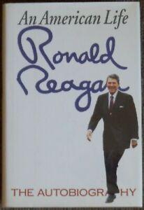 Reagan Signed In Book An American Life 1st Edition JSA LOA plus Custom Book Box