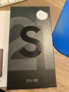 Samsung Galaxy S21 Plus 5G G996U 256GB Phantom Black Factory Unlocked #19309