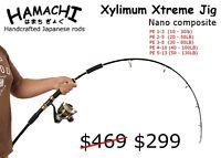 Hamachi Nano Jig Xtreme 6' PE 3 - 8 Japanese jigging reef fishing rod pole cane