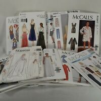 Mixed Lot of 16 Sewing Patterns New Uncut Factory Folded Original Envelopes