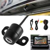 170° Car Rear View Reverse Backup Camera Reverse LED Night Vision Waterproof