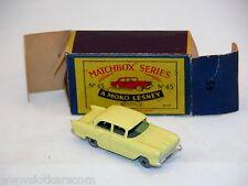 Matchbox Moko Lesney  N° 45  Vauxhall N/Mint avec Boite ! rare ! (#MBA)