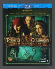 Pirates of the Caribbean: Dead Man's Chest (Blu-ray/DVD, 2006, 3-Disc Set)