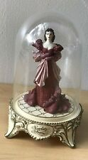"""1993 Turner Ent. Co. Gone With the Wind Glass Dome Figurine """" Scarlett's Shame """""""